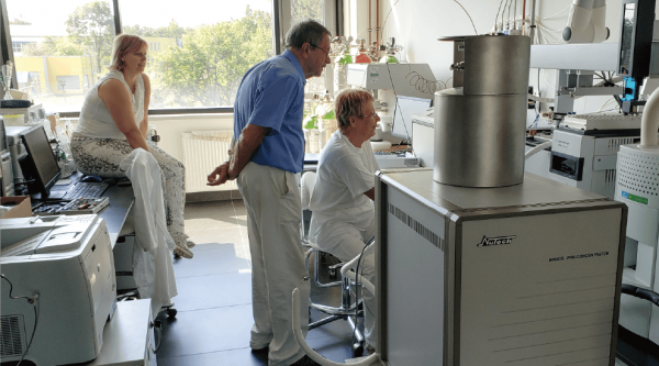 Nutech's Preconcentation System at Technical University of Ostrava